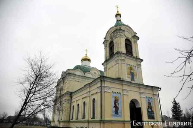 храм села Пужайкове Балтського району