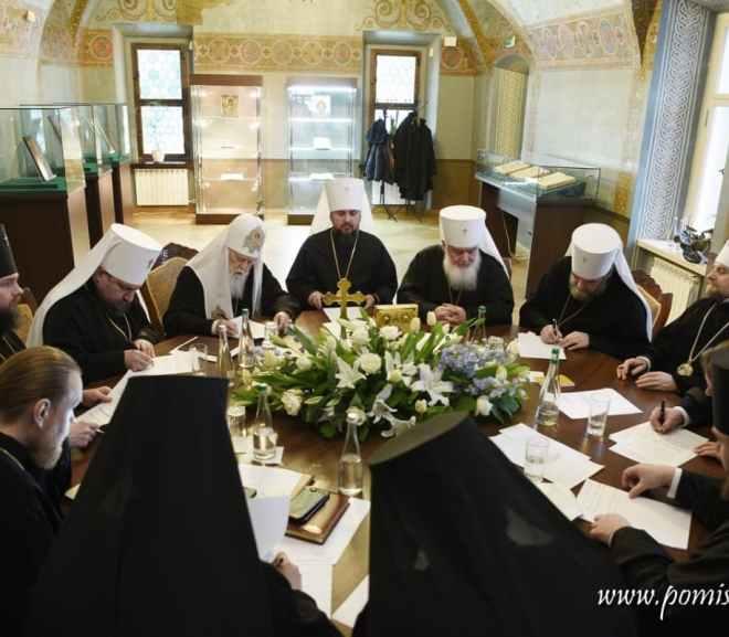 Священний Синод Помісної Української православної церкви ухвалив перші рішення