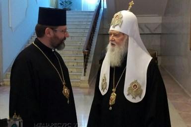 Патріарх Філарет іглава УГКЦ Святослав