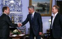 Бойко у Кремлі на зустрічі з Мєдвєдєвим