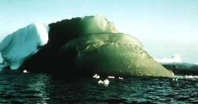 Зелений айсбер