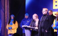 Олександр Пономарьов на мітингу Тимошенко
