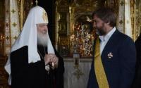 Вадим Новінський і патріарх Кирил