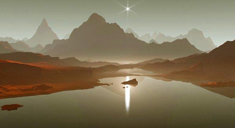 Озеро на Титані