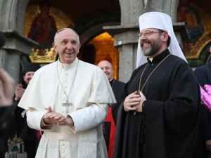 Папа Франциск і Глава УГКЦ Святослав