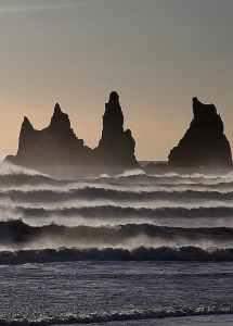 Хвилі. океан
