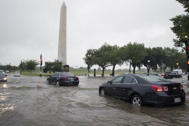 Повінь у Вашингтоні