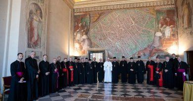 Папа Франциск зустрівся з єпикопами УГКЦ