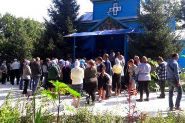 Храм у селі Рясники