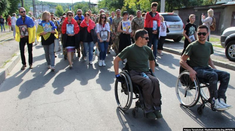Марш Нескорених у Львові