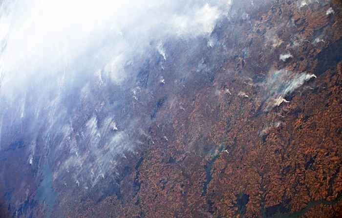 Пожежі в долині Амазонки
