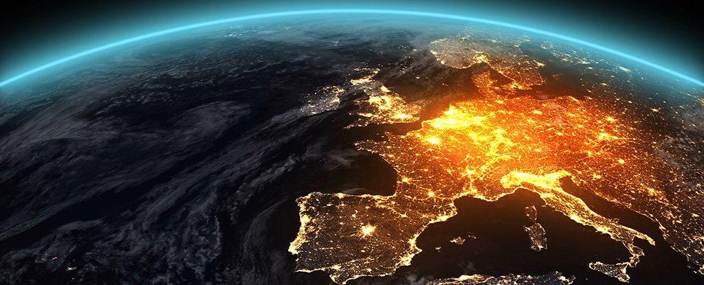 Вигляд Землі з космосу
