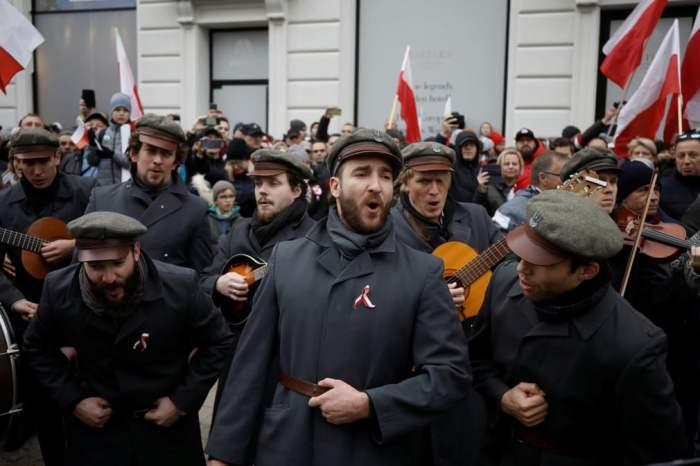 Поляки святкують день незалежності