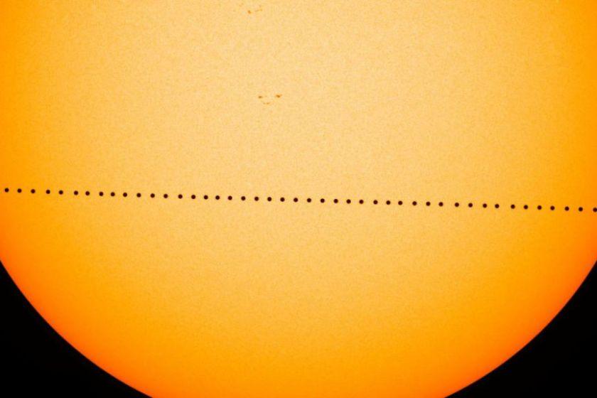 Транзит меркурія по Сонцю