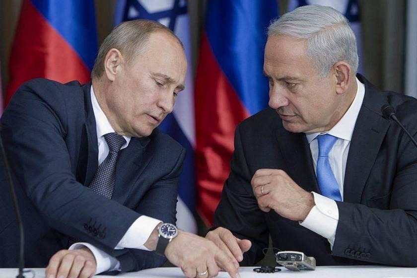 Путін Нетаньягу