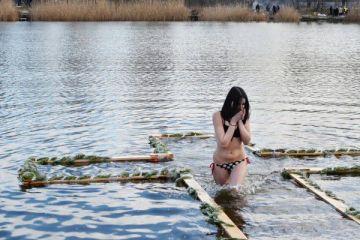 купання на Водохреща