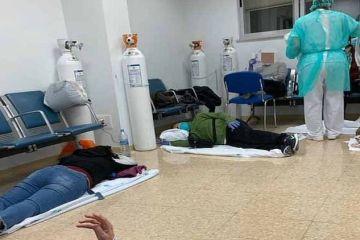 У Мадриді склалася критична ситуація з місцями в лікарнях