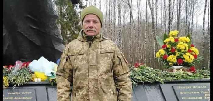 Військовослужбовець 44-ї окремої артилерійської бригади (Львівська область) Михайло Воронский