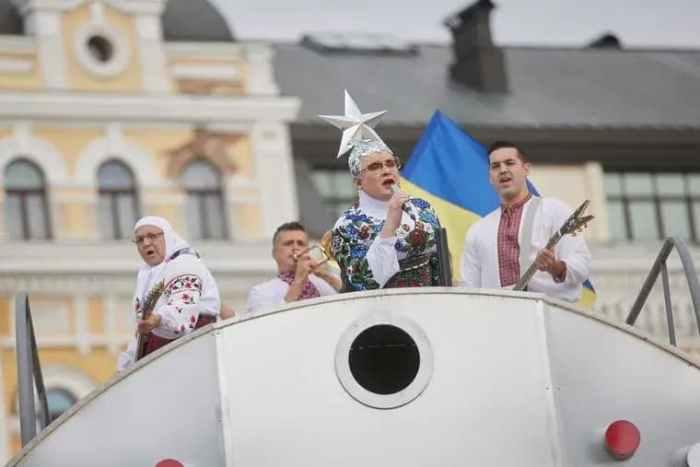 концерт на Софіївській площі