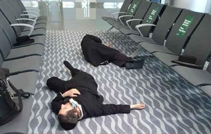 Хасиди в аеропорту Києва