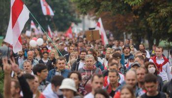 Білоруси протестують