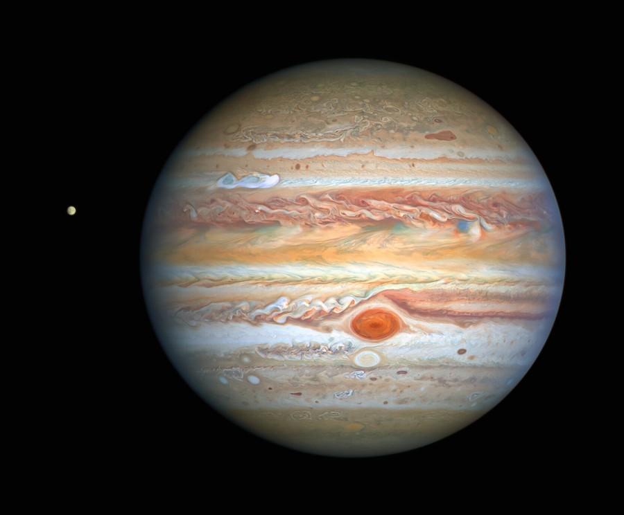 Телескоп «Хаббл» зробив черговий знімок Юпітера високої якості