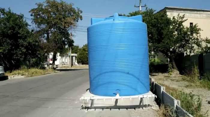 резервуар для води