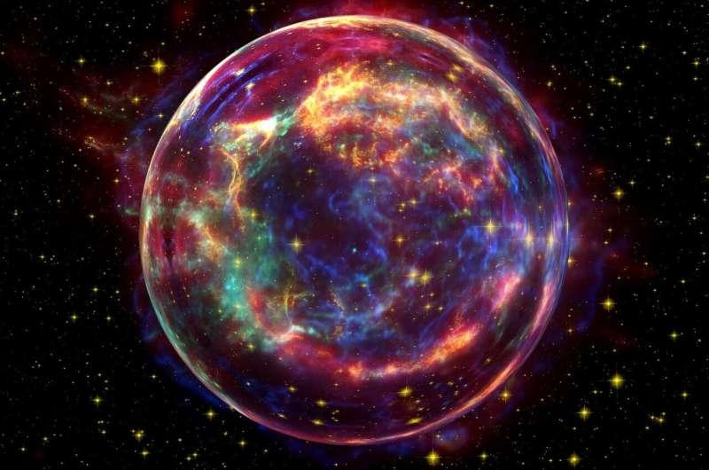 Стало відомо, чому зірка LP 40-365 стрімко покидає нашу Галактику