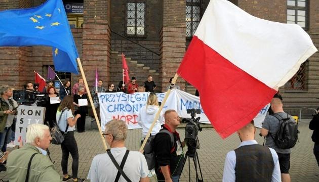 У Вроцлаві українці вийшли на протест через закатованого поліціянтами співвітчизника