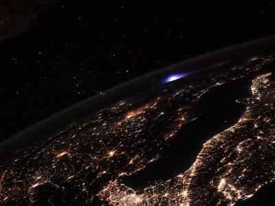На МКС зафіксували невидиме для землян атмосферне явище