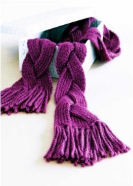 1001 foulards au tricot