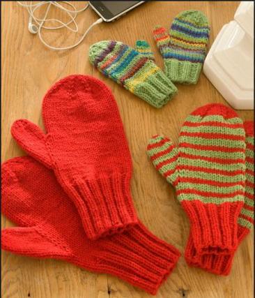 1001 mitaines au tricot