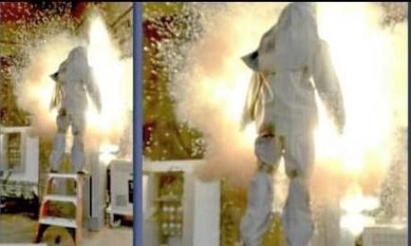 Arc Blast Explosion