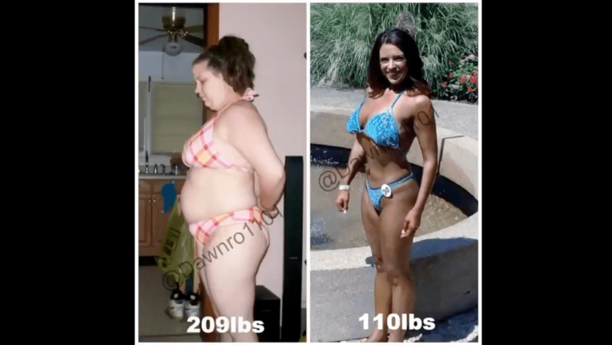 99lb Loss and Transformation Pictures