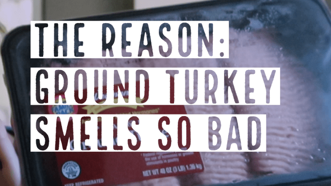 The Reason Why Does Ground Turkey Smell Bad