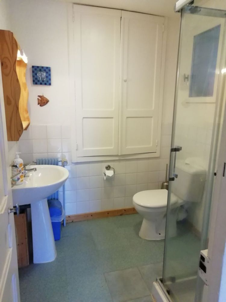 salle de douche/wc appartement, Felletin