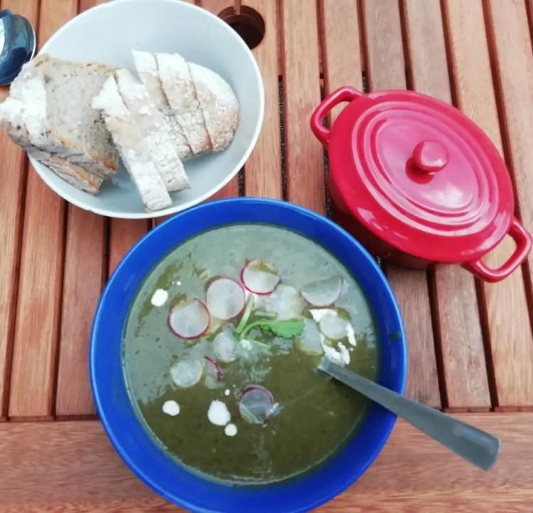 soupe de radis, fait maison, Felletin Chambres d'hôtes