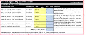 3PL Quick Cost Estimator Pic