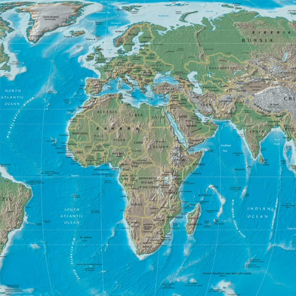 World Map Geography Class - Robin Sprong Wallpapers