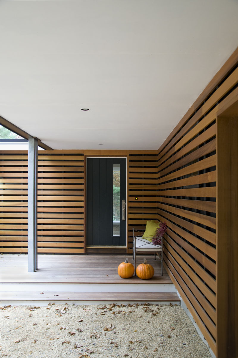 Before and After for a Mid-Century Modern House • Ruhl ... on Modern Siding  id=29225