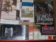Just One Box Of Unread Books. Credit ; @3rdEarGirl