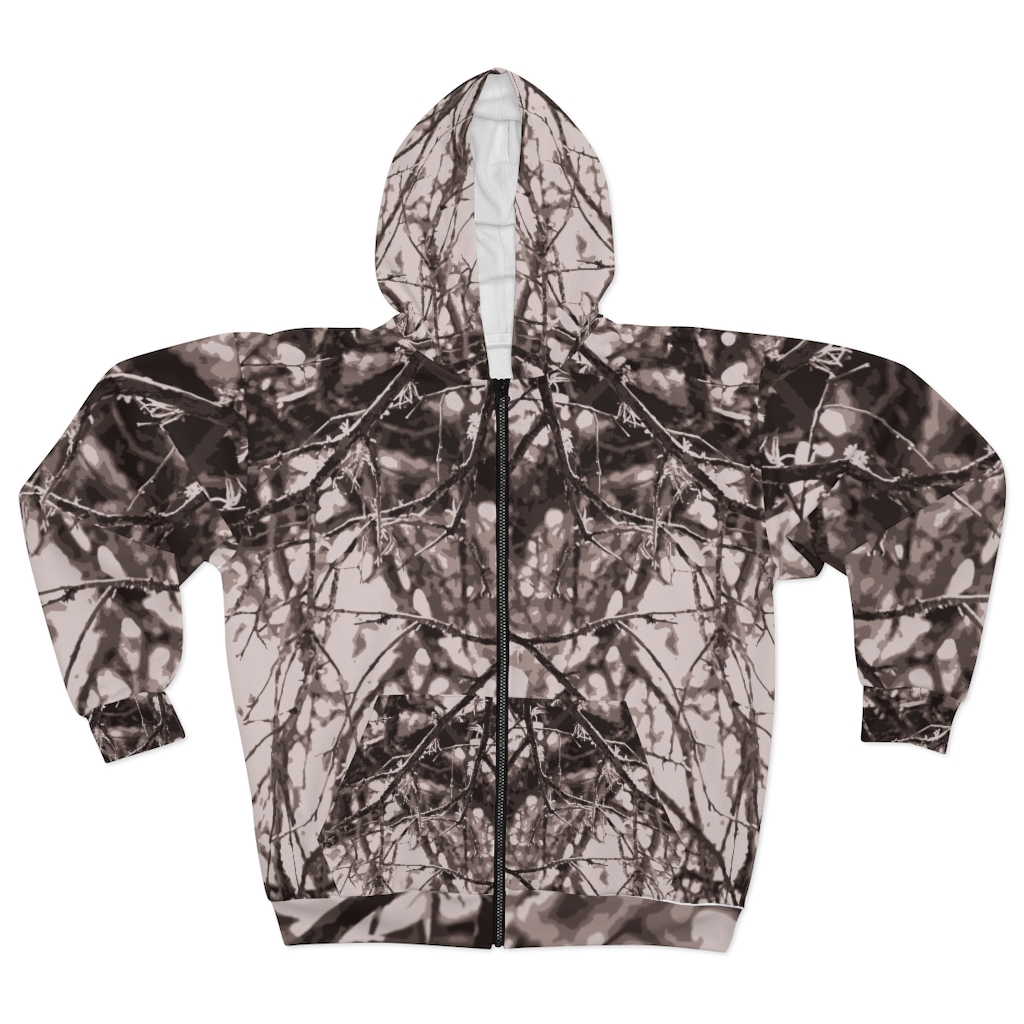 Hill Country Zip Hoodie camo jacket | activewear by TGC FASHION