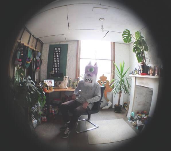 Malarko in the Studio