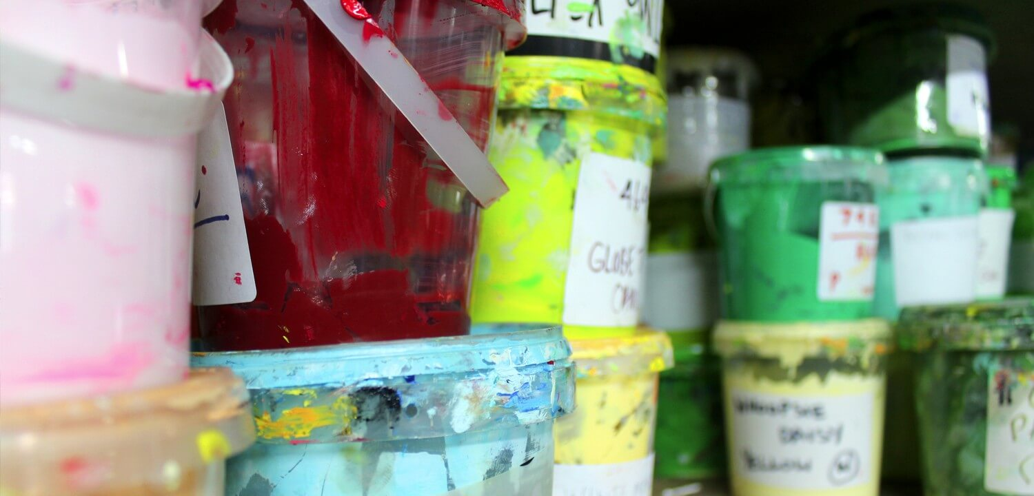Speciality Screen Printing Inks