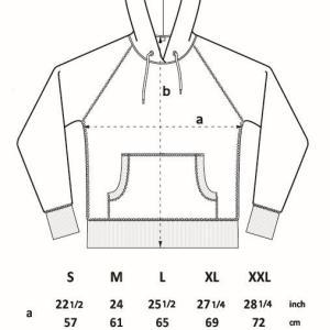 N51Z Continental Clothing Raglan Zip-Up Hoodie
