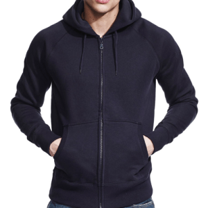 N51Z Continental Clothing Raglan Zip-Up Hoodie