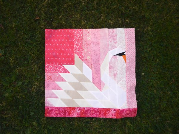 Our Song Swan Quilt Pattern, 3rd Story Workshop, Gillian Noonan