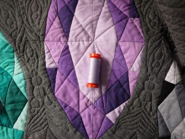 Gemology Book, Gemstone Quilt, Aurifil Thread