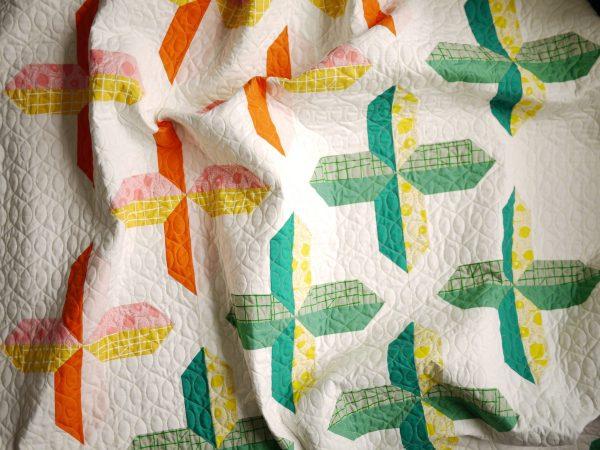 Modern Quilt Pattern - 3rd Story Workshop - The Positive Side