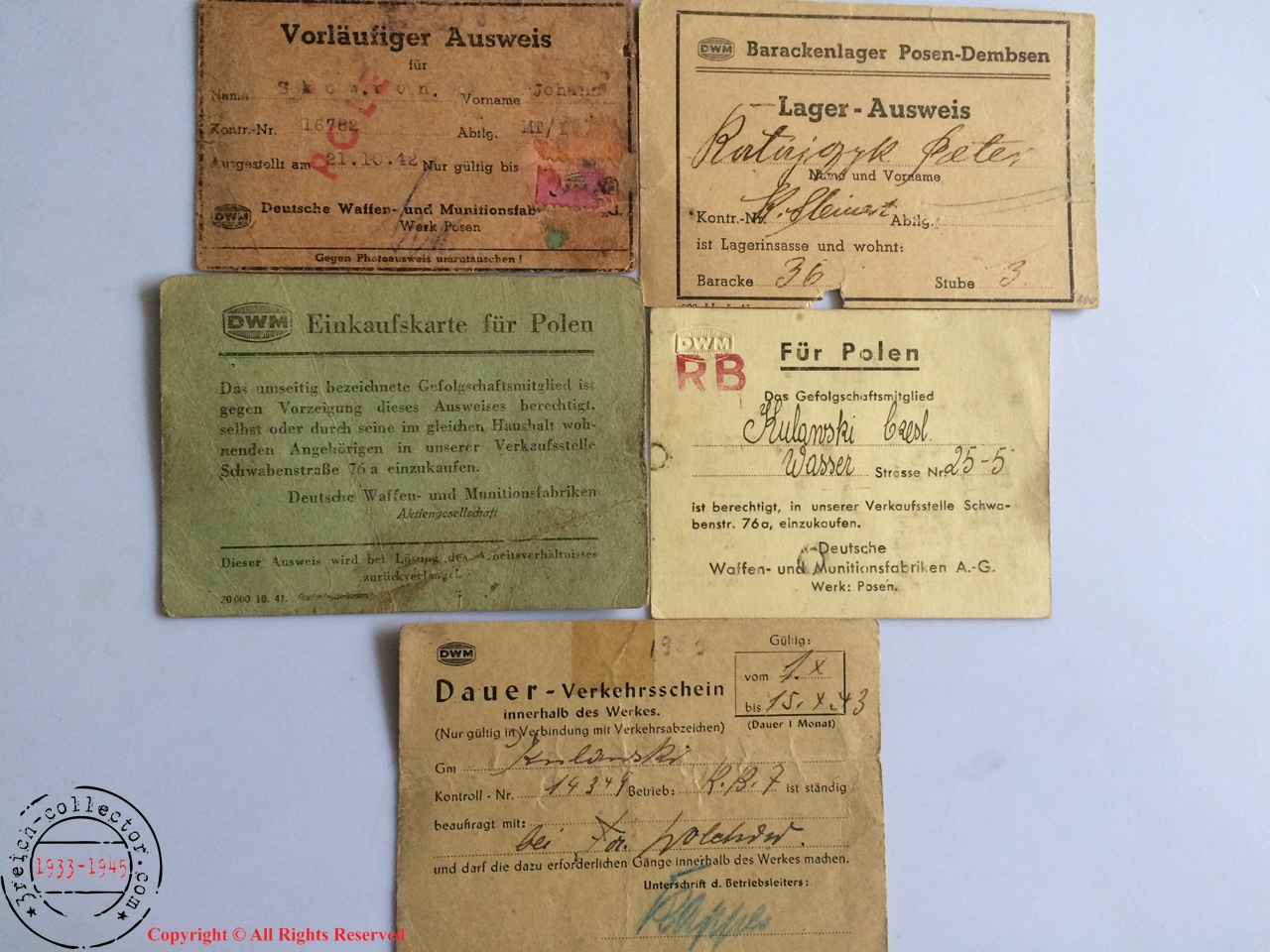 Ww2 Concentration Camp Kl Original Items